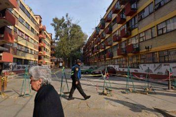 Damnificados Unidos de la Ciudad de México dieron a conocer avances del Registro Independiente de Vecinos y Predios afectados por los sismos del 7 y 19 de septiembre, así como parte del plan de acción por un proceso digno de reconstrucción, en el Multifamiliar Tlalpan.