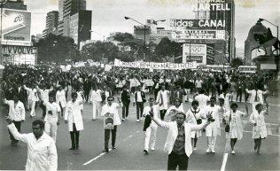 marcha silencio 1968