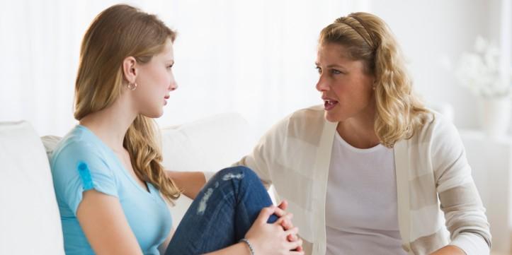 MOTHER-DAUGHTER-TALKING