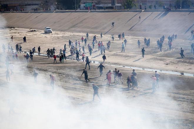 migrantes gas